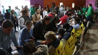 La STyFE apoya a personas que perdieron su fuente de trabajo por el incendio en el Mercado La Merced